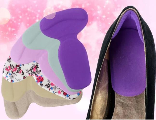 Новинка! силиконовые накладки в обувь: под пятки и на задник обуви фото №1
