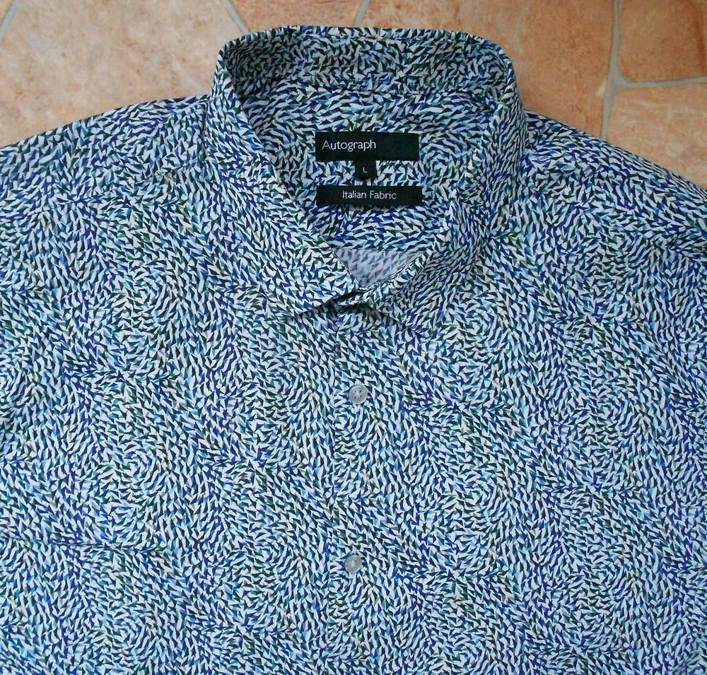 Рубашка marks & spencer размер l (50-52) фото №1