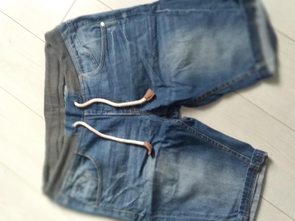 Шорты джинсовые мужские фото №1