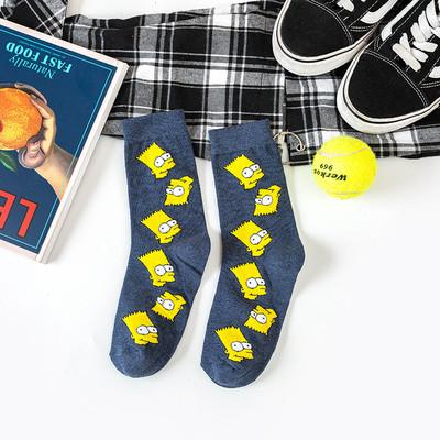 Шкарпетки носки барт сімпсон фото №1