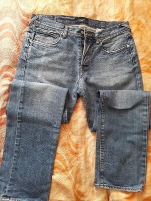 Фирменные джинсы paul smith 32/34 длина 105см. фото №1
