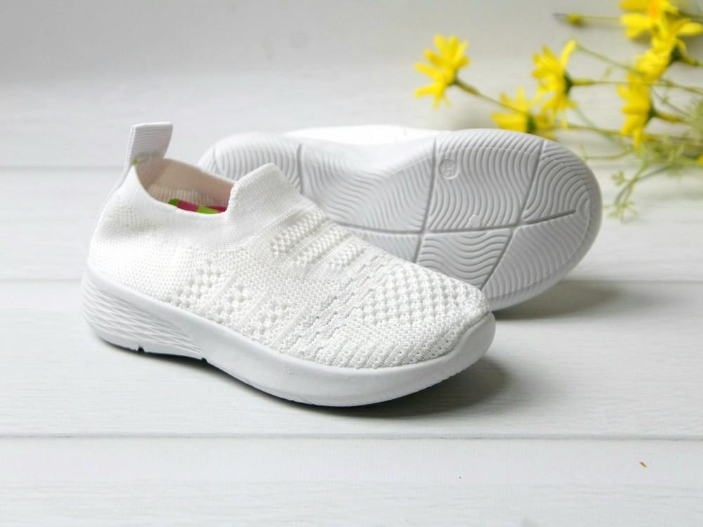 Крутые легкие белые кеды фото №1