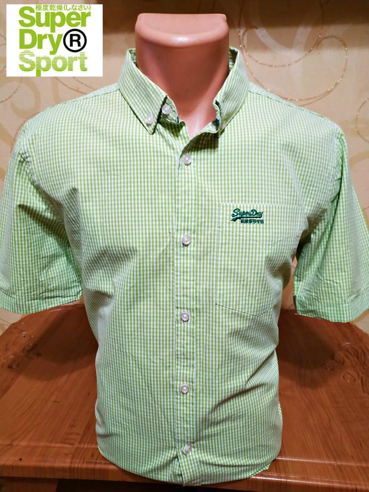 Рубашка от superdry, oригинал,пр-вo индия фото №1