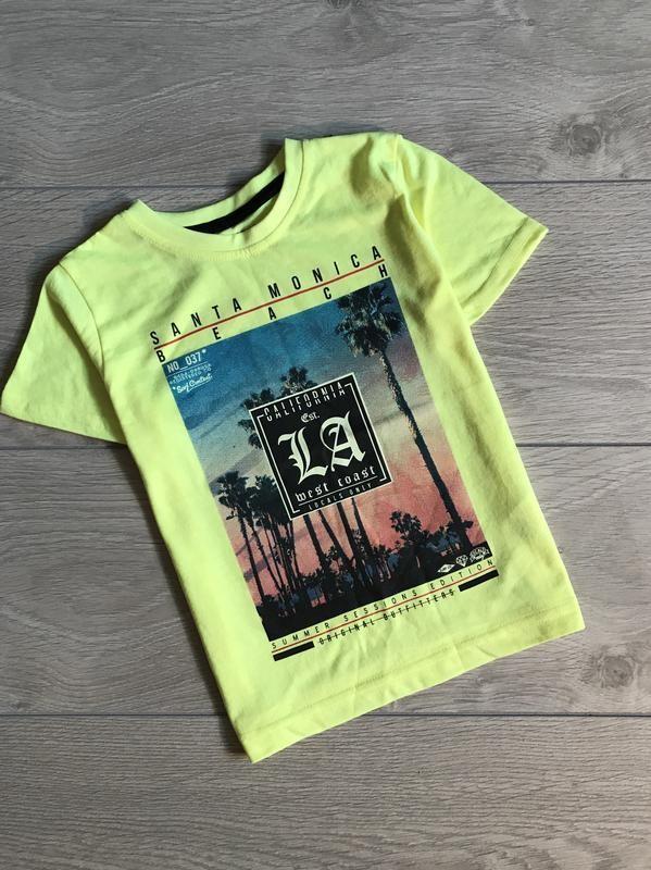 Primark футболка для мальчика фото №1