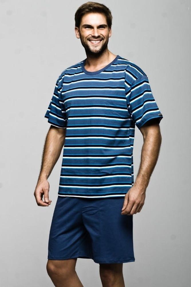 Мужская пижама с шортами польская, м распродажа фото №1