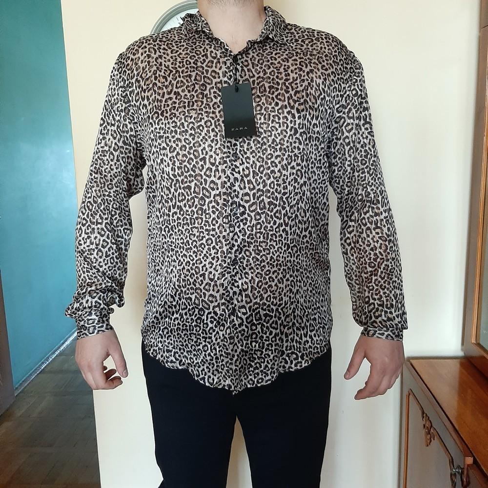 Zara рубашка мужская xl португалия оригинал фото №1