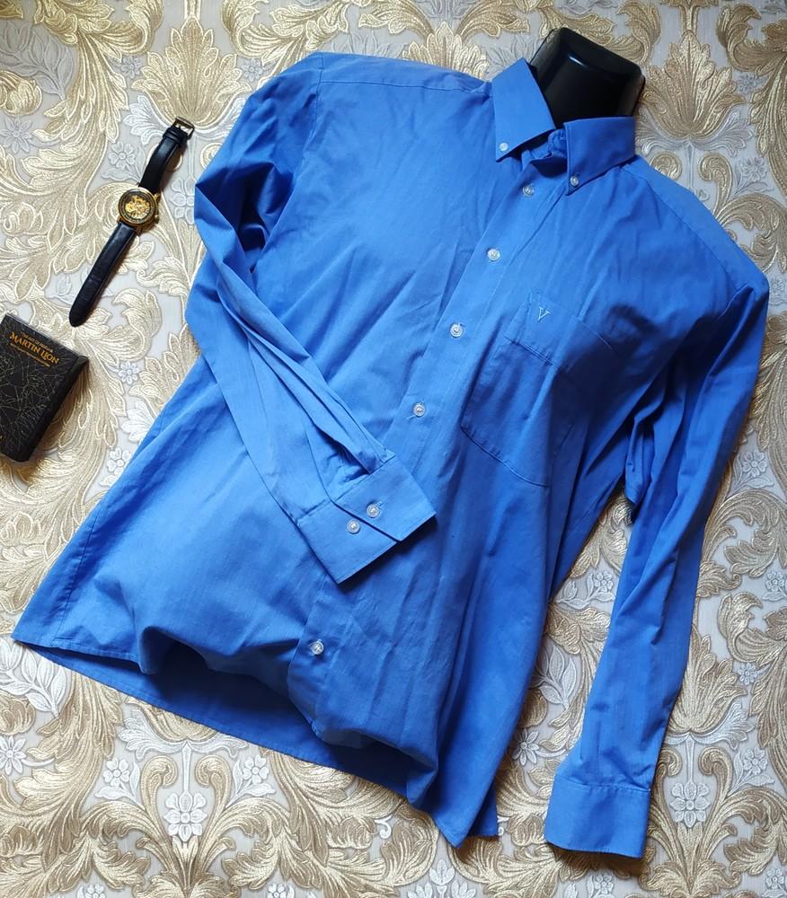 Marvelis классная мужская рубашка. l-xl р-р фото №1