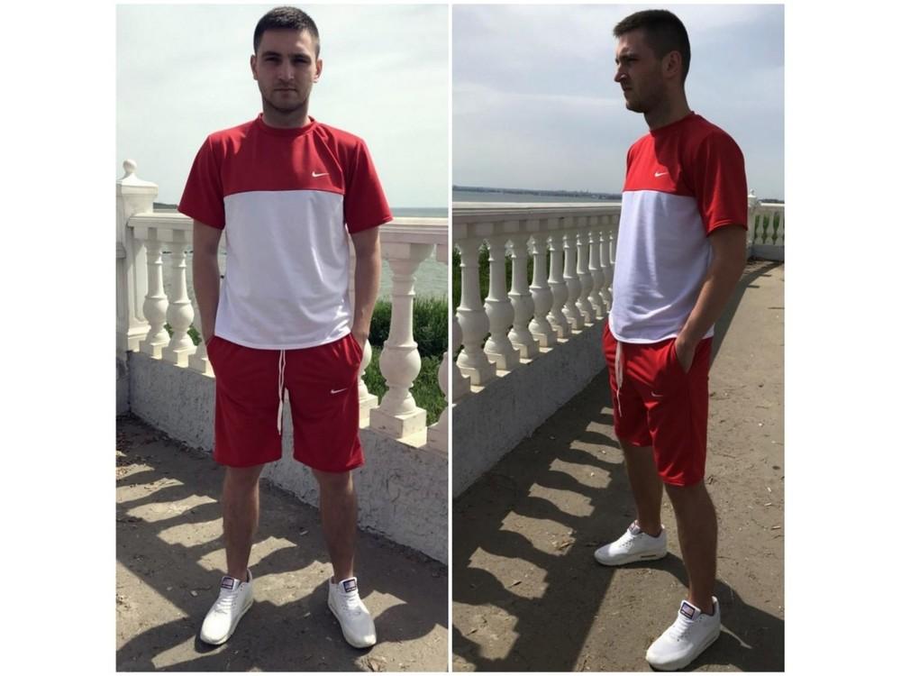 Чоловічий спортивний костюм (46-50) мод076 фото №1