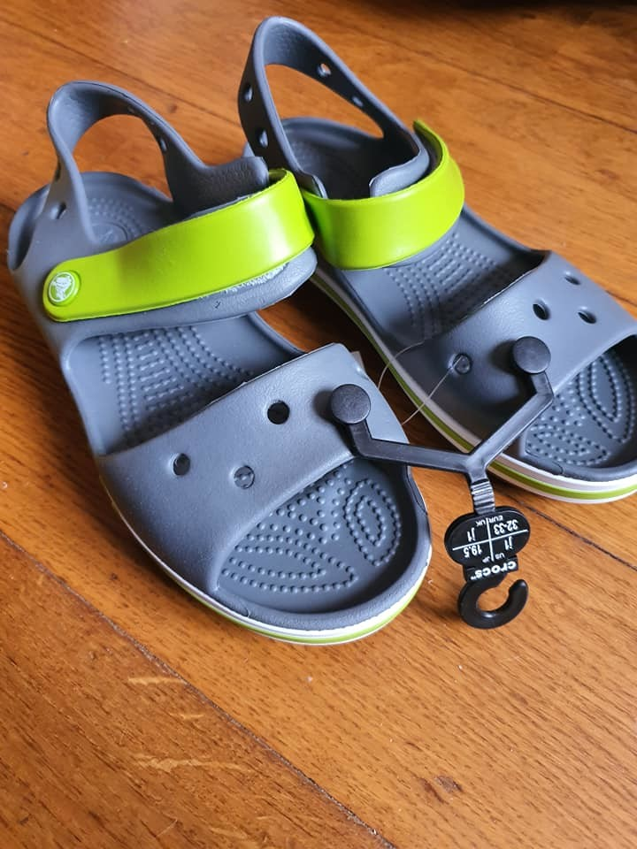 Босоножки crocs, j1 фото №1