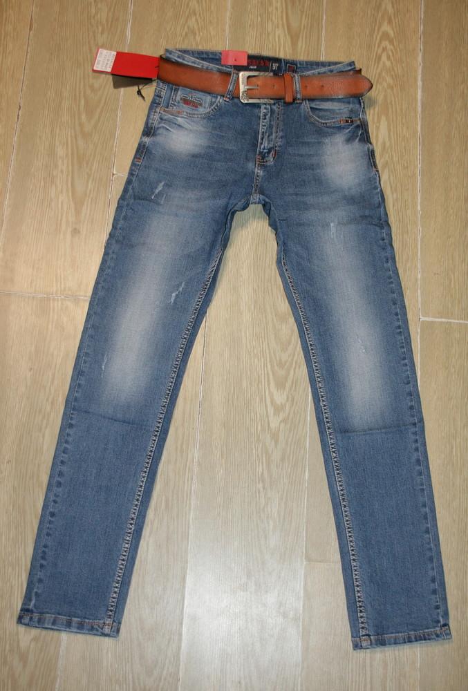 Мужские джинсы скини resalsa 9643 стрейчевые 29-33, рр фото №1