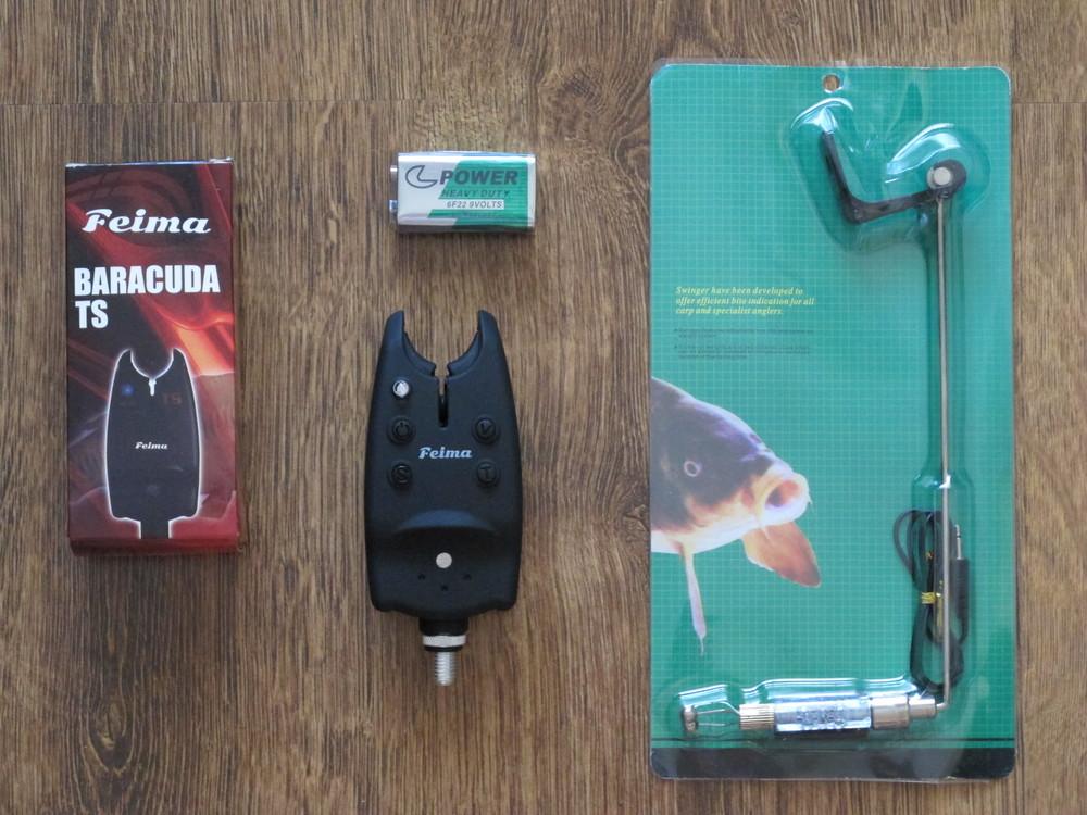 Feima baracuda электронный сигнализатор поклёвки свингер фото №1