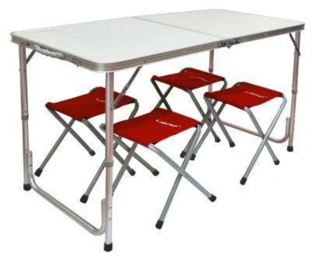 Туристичний столик зі стільцями. фото №1