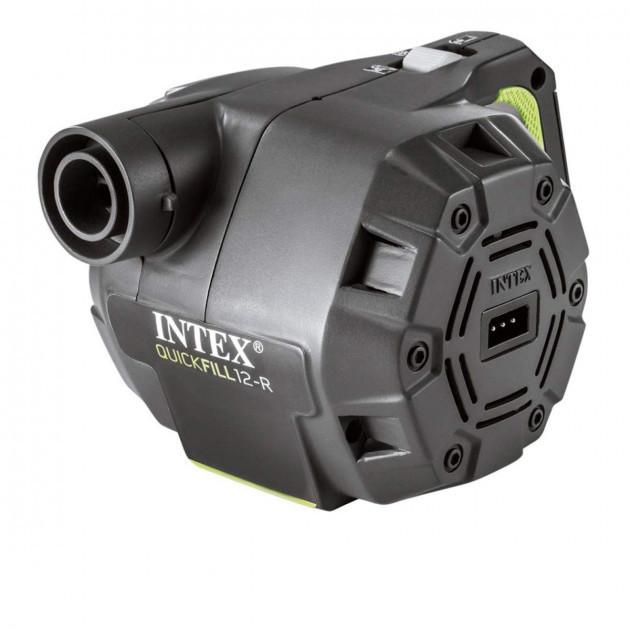 Электрический автомобильный аккумуляторный насос intex 66642 quick-fill аккумуляторный (220 v, 600 л фото №1