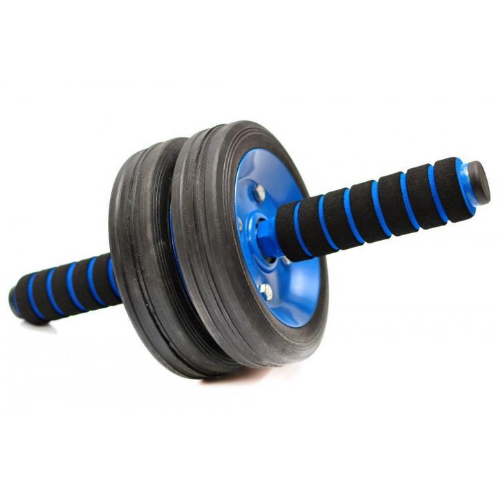 Тренажер ролик (колесо) для пресса energyfit с неопреновыми ручками фото №1