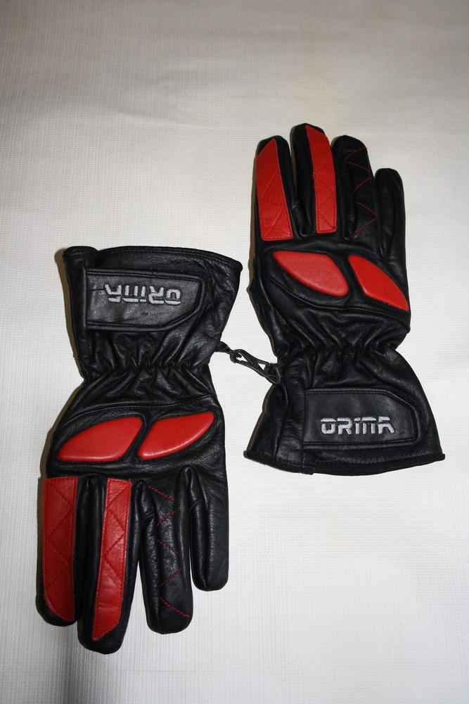 Кожаные мотоциклетные перчатки orina motorrad-handschuhe, 9 размер фото №1
