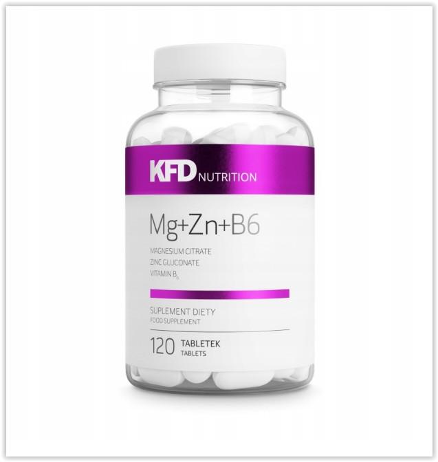 Kfd zma 120 таблеток магний + цинк + витамин b6 фото №1