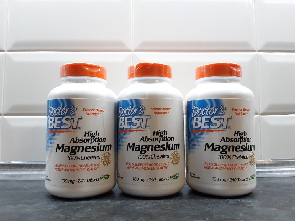 Doctors best, магний хелат (240 таб. х 100 мг), magnesium, магній фото №1