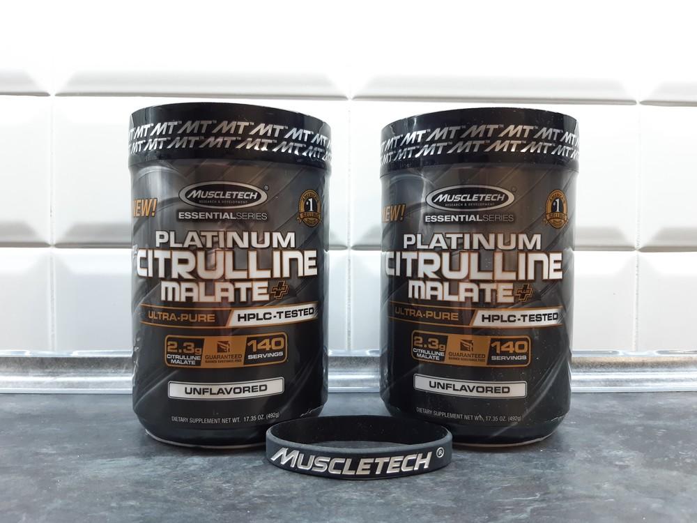 Muscletech, citrulline malate+ (492г=140 порций), цитруллин, цитруллін фото №1