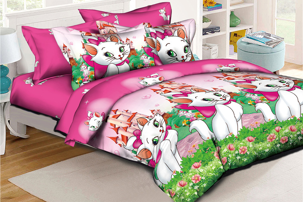 Комплект детского постельного белья бязь голд 150*210 см фото №1