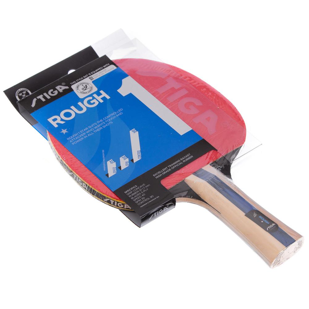 Ракетка для настольного тенниса stiga rough 1 star 1211161701 фото №1