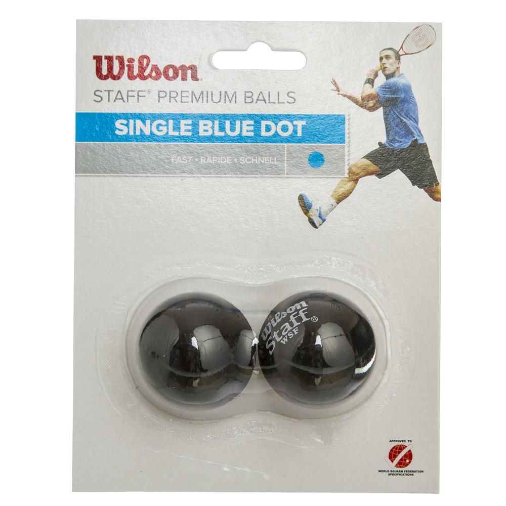 Мяч для сквоша wilson staff 617500: 2 мяча в комплекте (быстрый мяч) фото №1