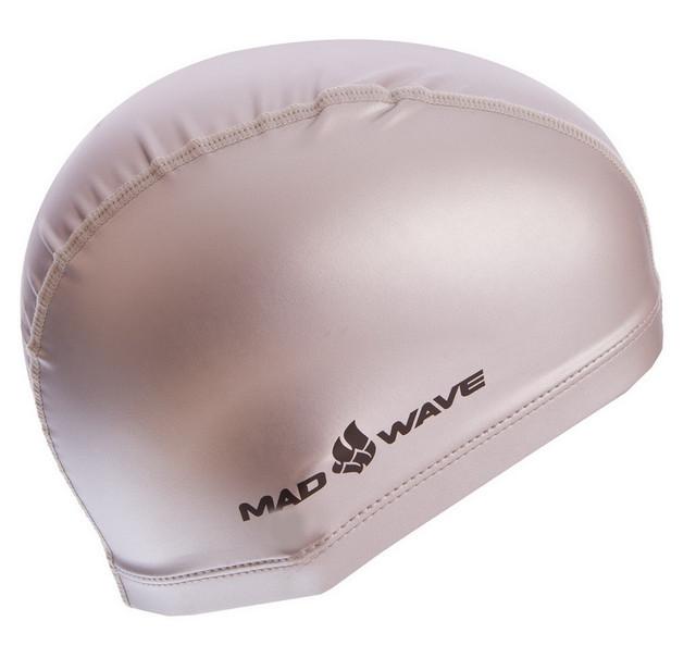 Шапочка для плавания madwave put coated 058501: pu, серебро фото №1