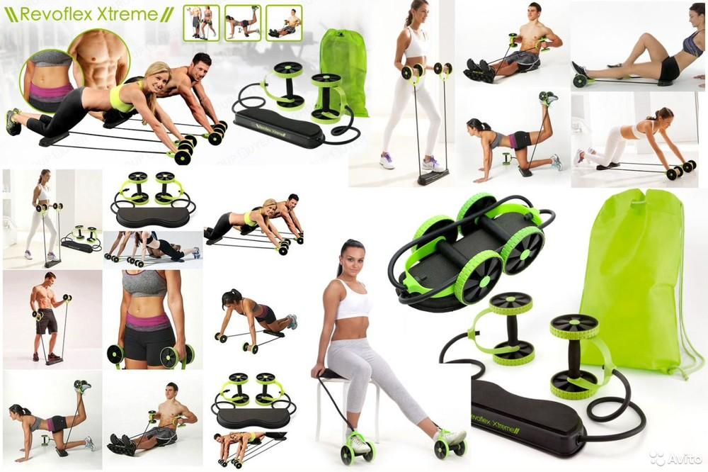 Тренажер revoflex xtreme! 40 упражнений на разные группы мышц!!! фото №1