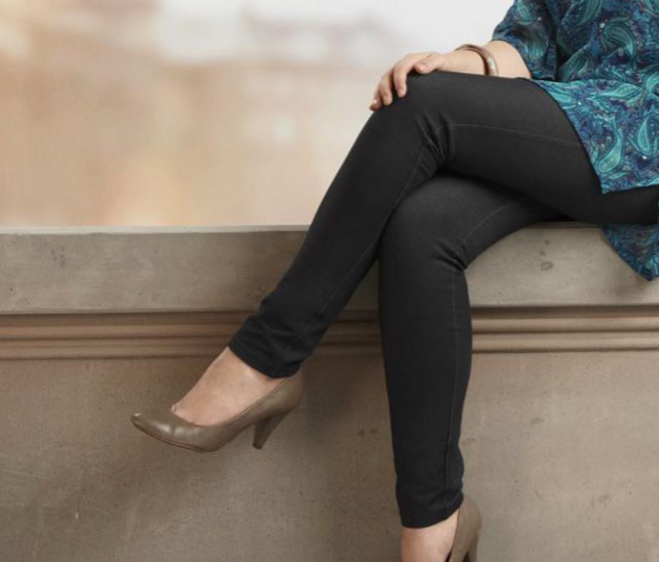 Модные джинсы треггинсы от тсм чибо. 46 евро фото №1