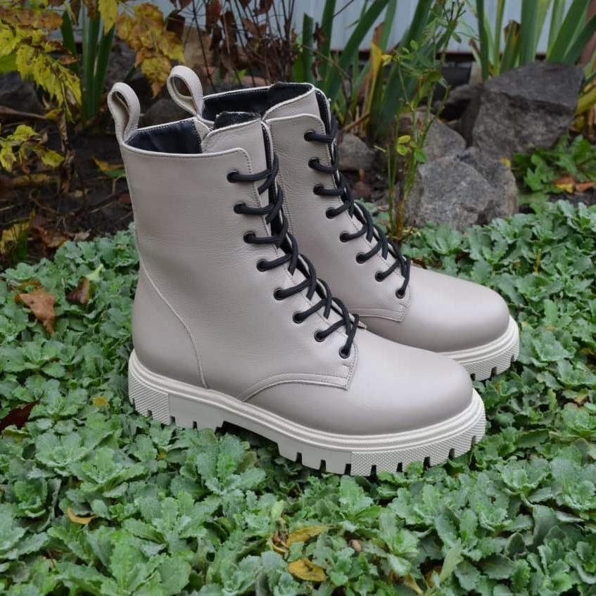 Кожаные женские ботинки, натуральная кожа 36-41 фото №1