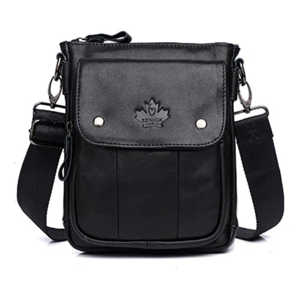 """Мужская сумка барсетка """"ipad bag"""" чёрная из натуральной кожи фото №1"""