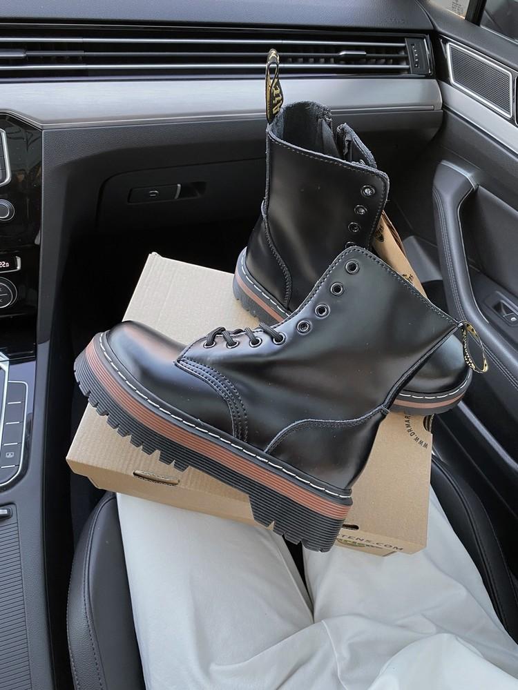 Женские ботинки dr.martens air wair black(ааа+) 36-37-38-39-40 фото №1