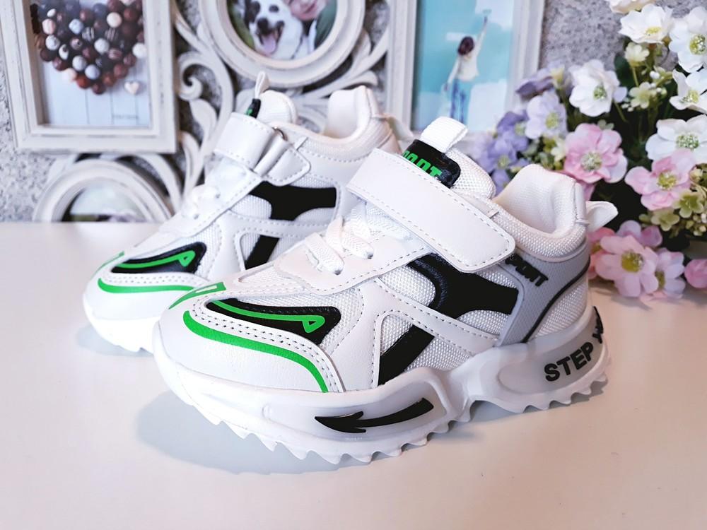 Белые кроссовки ф-мы fzd 26-35 размеры фото №1