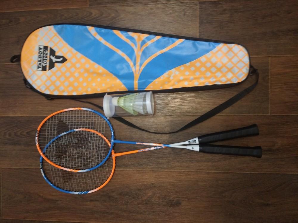 Набір для бадмінтону talbot badminton set 2 attacker фото №1