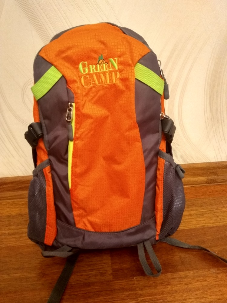 Спортивный рюкзак green camp, 25л фото №1