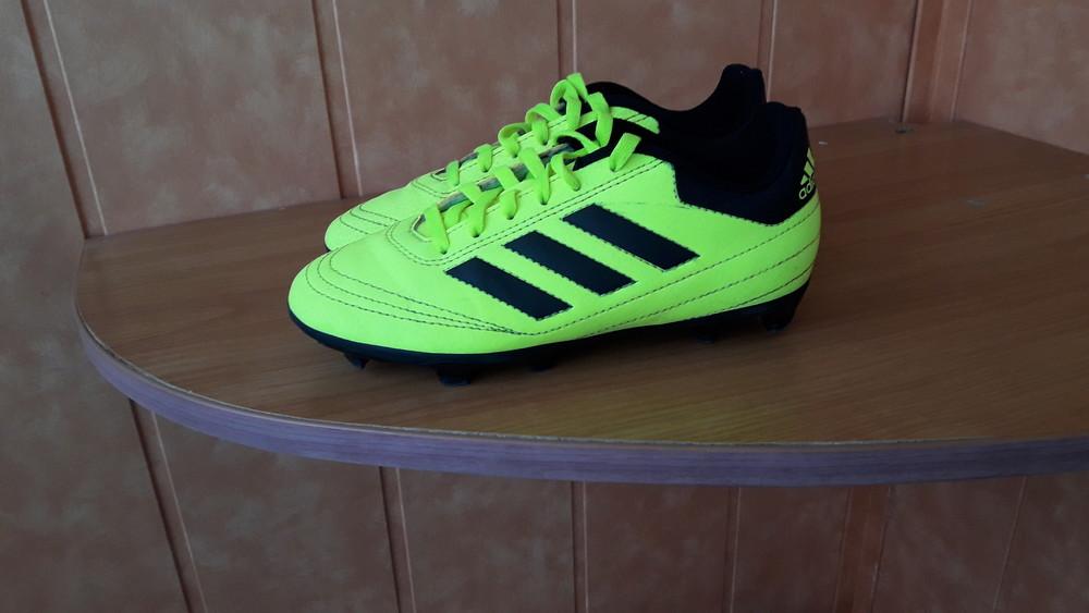 Бутсы футбольные оригинал adidas 33 р вся стелька 20,5 см фото №1