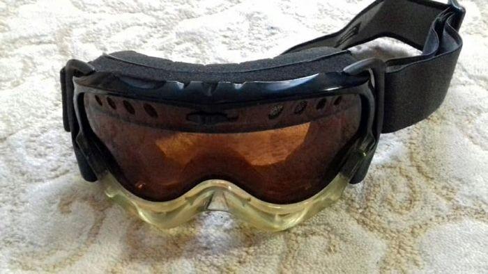 Горнолыжная маска подростковая,лижные очки фото №1
