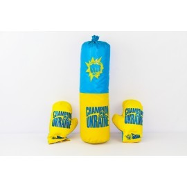 "Боксёрский набор ""украина"" средний фото №1"