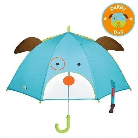 Уценка (дефекты)! детский зонтик. собачка. skip hop zoo. фото №1