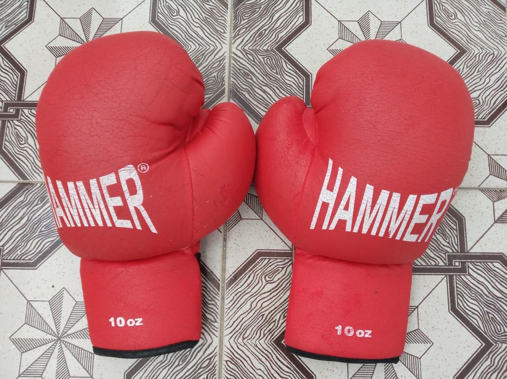 Продам боксерські перчатки hammer розмір 10 oz фото №1