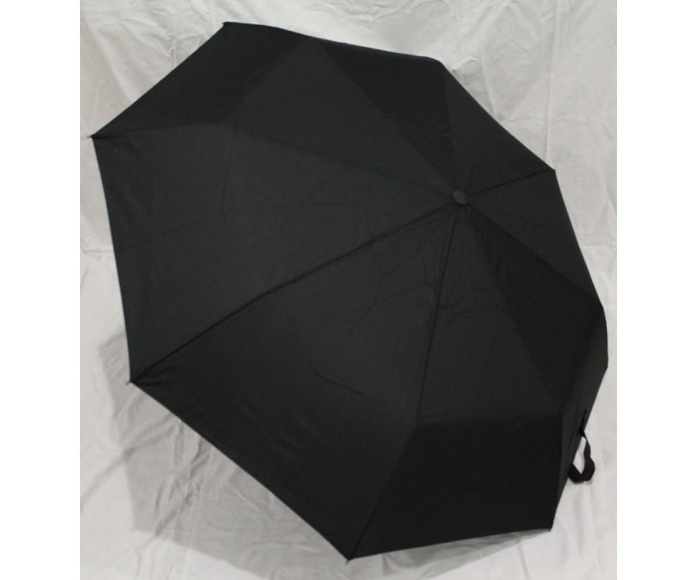 Мужской зонт полуавтомат в 3 сложения. мах фото №1