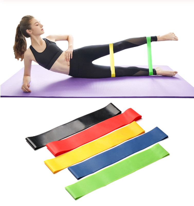 Фитнес резинки, фитнес ленты для фитнеса и тренировок поштучно и наборы. фото №1