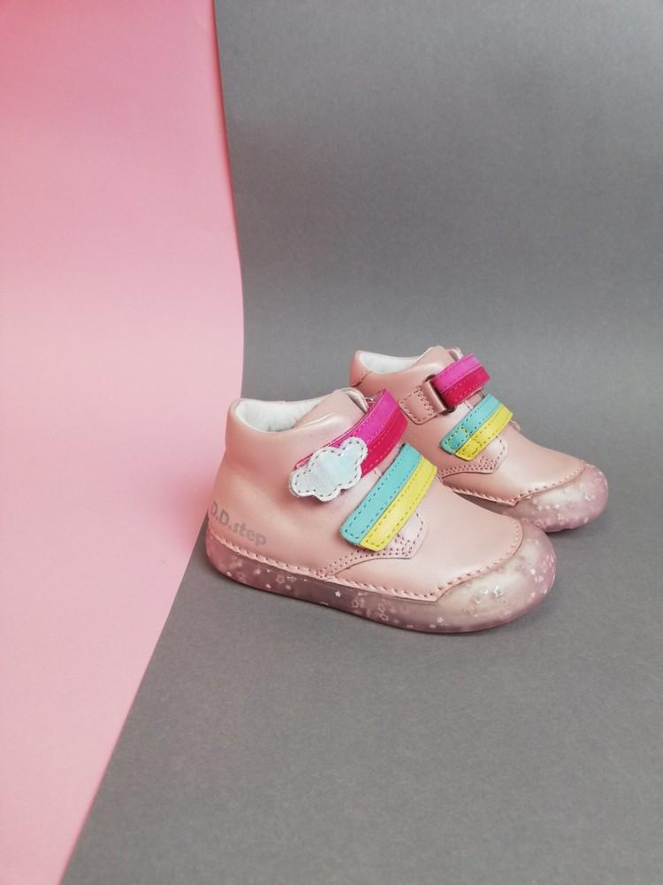 Демисезонные ботинки ddstep для девочки фото №1
