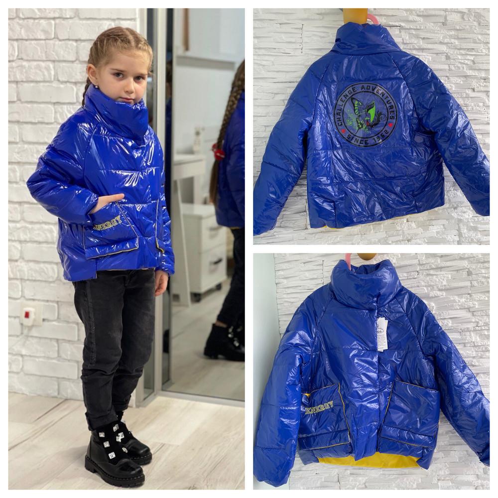 Стильные модные демисезонные куртки на девочек! акционная цена! фото №1