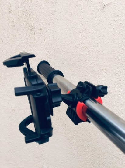 Велодержатель для телефона держатель телефона на велосипед inauto black 123784 фото №1