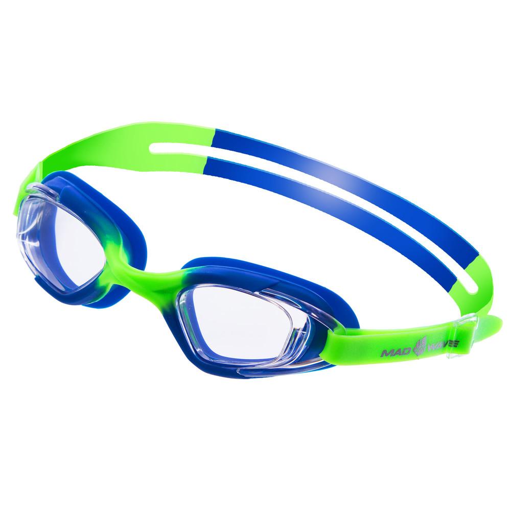 Очки для плавания детские mad wave junior micra multi m041901: 4 цвета (поликарбонат, силикон) фото №1