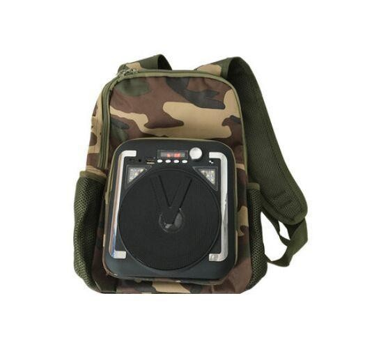 Туристический рюкзак с вluetooth колонкой м34 фото №1