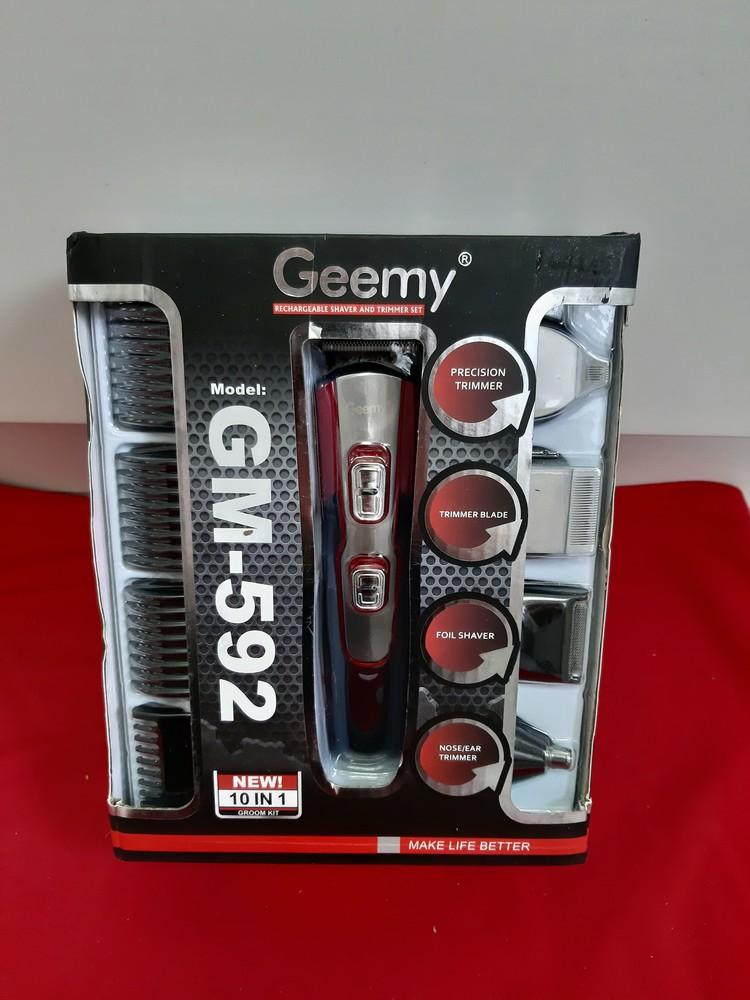 Машинка для стрижки geemy gm-592 в инете такая 500 грн фото №1