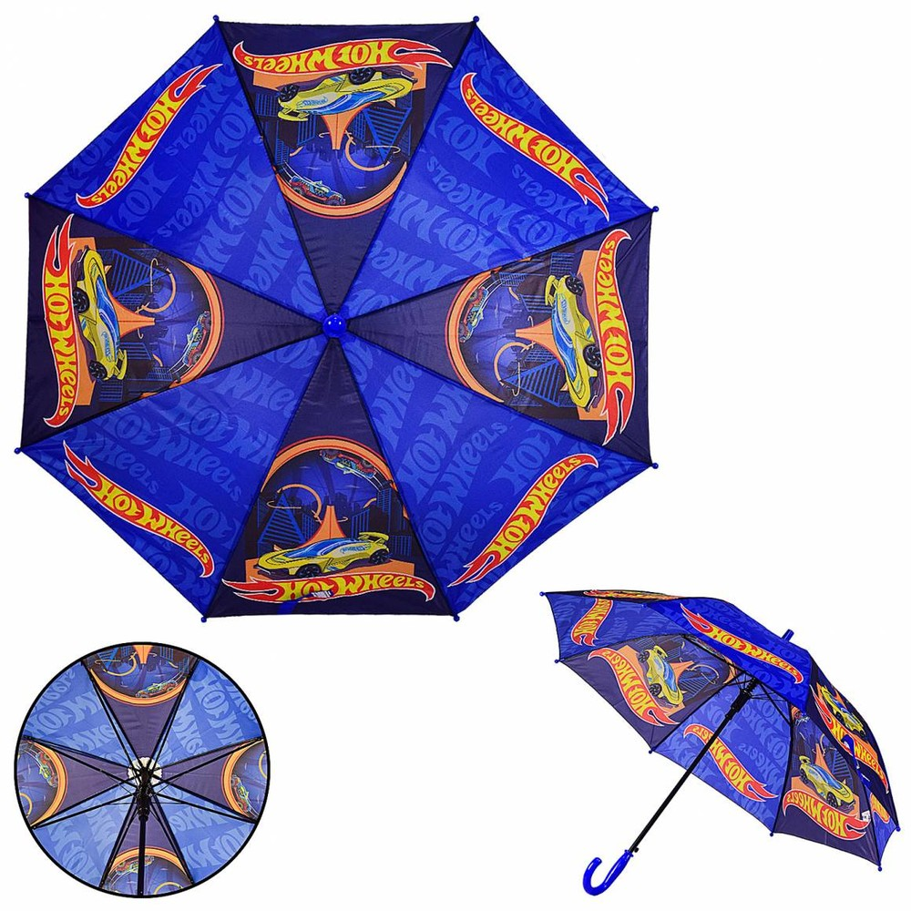 Детский зонт hot wheels фото №1