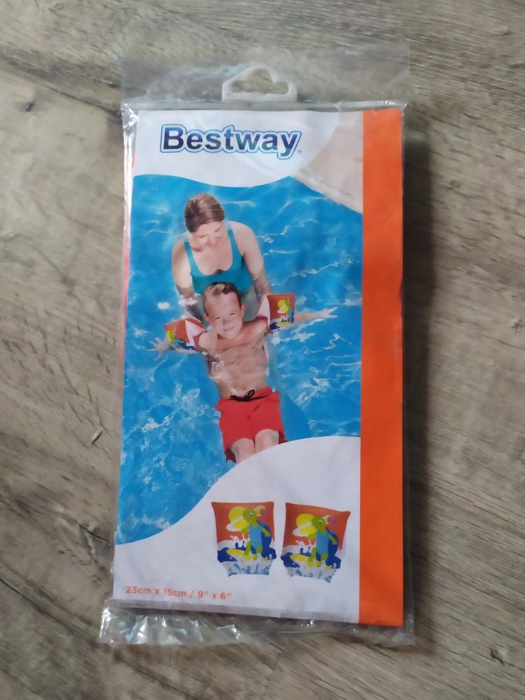 Новые нарукавники для плавания фото №1