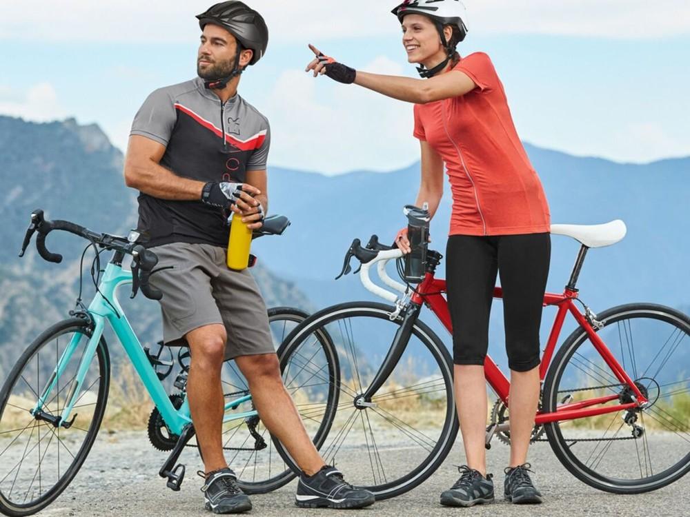 Crivit pro® мужские вело/фитнес перчатки, 9 фото №1